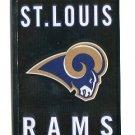 St. LOUIS RAMS Team Logo 2011 Panini Sticker #411