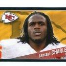 JAMAAL CHARLES 2011 Panini Sticker #188 Kansas City KC Chiefs TEXAS Longhorns