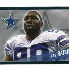 JAY RATLIFF 2011 Panini Sticker #238 Dallas Cowboys