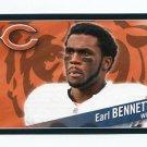 EARL BENNETT 2011 Panini Sticker #292 Bears VANDERBILT