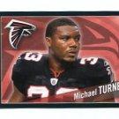 MICHAEL TURNER 2011 Panini Sticker #343 Atlanta Falcons
