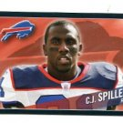 C.J. CJ SPILLER 2011 Panini Sticker #11 Bills CLEMSON Tigers