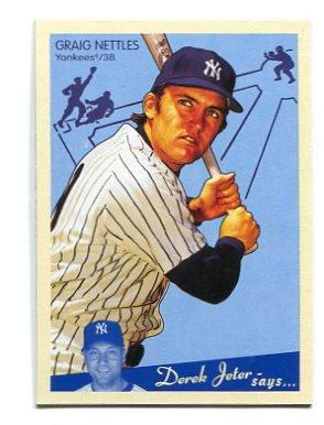 CRAIG NETTLES 2008 Upper Deck UD Goudey #130 New York NY Yankees