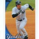 HIDEKI MATSUI 2010 Topps #185 New York NY Yankees