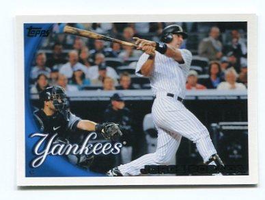 JORGE POSADA 2010 Topps #120 New York NY Yankees