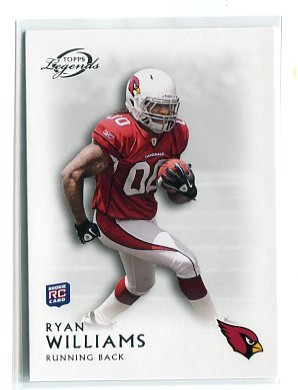 RYAN WILLIAMS 2011 Topps Gridiron Legends #64 ROOKIE Cardinals VIRGINIA TECH Hokies
