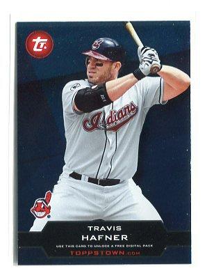 TRAVIS HAFNER 2011 Topps ToppsTown #TTU-33 Cleveland Indians