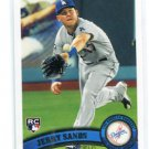 JERRY SANDS 2011 Topps Update Series #US54 ROOKIE Dodgers
