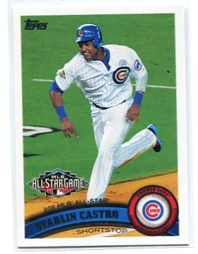 STARLIN CASTRO 2011 Topps Update Series #US249 Chicago Cubs