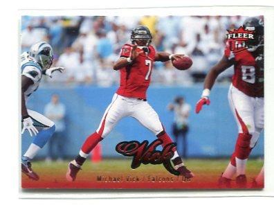 MICHAEL MIKE VICK 2007 Fleer Ultra #10 Falcons EAGLES Virginia Tech HOKIES QB