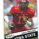 SENECA WALLACE 2003 Sage Hit #14 ROOKIE Seahawks BROWNS Iowa State QB