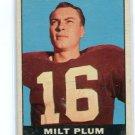 MILT PLUM 1961 Topps #68 Lions PENN STATE QB