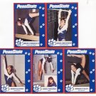 (5) Women's Gymnastics 1993 Penn State Second Mile Lot