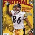HINES WARD Beckett Cover NO LABEL March 2006 SUPER BOWL XL Steelers