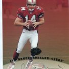 JIM DRUNKENMILLER 1997 Leaf AUTO Signed 8x10 49ers VIRGINIA TECH Hokies QB