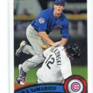 D.J. DJ LeMAHIEU 2011 Topps Update Series #US205 ROOKIE Chicago Cubs