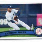 ANDRUW JONES 2011 Topps Update Series #US41 New York NY Yankees