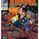Marvel Comics: The Mighty Thor featuring Ghost Rider #430 March 1990
