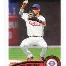 WILSON VALDEZ 2011 Topps Update Series #US189 Philadelphia Phillies