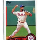 JIMMY ROLLINS 2011 Topps #199 Philadelphia Phillies