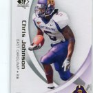 CHRIS JOHNSON 2010 SP Authentic #22 Tennessee Titans