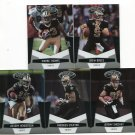(5) New Orleans SAINTS 2010 Panini Leaf Certified Team Lot NO DUPES