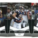 (3) St. Louis RAMS 2010 Panini Leaf Certified Team Lot NO DUPES