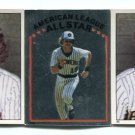 (3) ROBIN YOUNT 1981 Topps Sticker Lot w/ All-Star BREWERS
