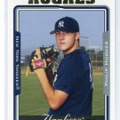 PHIL HUGHES 2005 Topps #5 of 5 ROOKIE New York NY Yankees