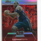 LUCIOUS HARRIS 2002-03 Topps Finest REFRACTOR #48 NJ Nets #d/250