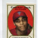 CHRIS ROBERSON 2005 Topps Cracker Jack #209 ROOKIE PHILLIES