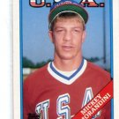 MICKEY MORANDINI 1989 Topps Traded USA #71T ROOKIE Philadalphia Phillies