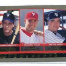 PAT BURRELL / NICK JOHNSON / DURAZO 2000 Topps PROSPECTS #204 Phillies YANKEES