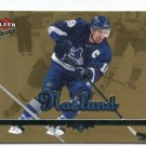 MARKUS NASLUND 2004-05 Fleer Ultra #189 GOLD MEDALLION Canucks