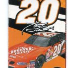 TONY STEWART 2002 Racing Schedule NASCAR