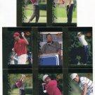 (8) TIGER WOODS 2001 Upper Deck UD Tiger's Tales ROOKIE LOT 5