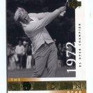 JACK NICKLAUS 2001 Upper Deck UD The Golden Bear 1972 #116