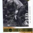 JACK NICKLAUS 2001 Upper Deck UD The Golden Bear 1980 #121