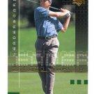 SERGIO GARCIA 2002 Upper Deck UD Leaderboard #108 PGA