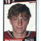 MIKE SCHERPENBERG 2006 Big 33 Ohio High School card QB