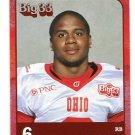 KYLE HAMMONDS 2011 Big 33 OH High School card U. of OHIO RB