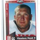 CLEADOUS HAWK II 1997 Big 33 High School card Univ. of OHIO DL / OL