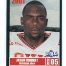 JASON WRIGHT 2001 Big 33 High School card CENTRAL MICHIGAN DB