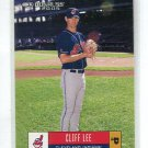 CLIFF LEE 2005 Donruss #160 INDIANS Philadelphia Phillies
