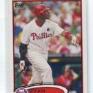 RYAN HOWARD 2012 Topps #280 Philadelphia Phillies