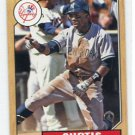 CURTIS GRANDERSON 2012 Topps 1987 Mini INSERT #TM-50 New York NY Yankees