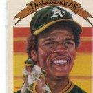RICKEY HENDERSON 1982 Donruss Diamond Kings #11 Oakland A's