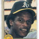RICKEY HENDERSON 1983 Fleer Super Star Special Speed & Power #646 Oakland A's