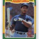 RICKEY HENDERSON 1986 Fleer Limited Edition #23 New York NY Yankees