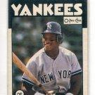 RICKEY HENDERSON 1986 O-Pee-Chee #243 New York NY Yankees